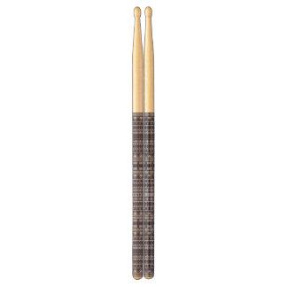 Aztec Pattern custom drumsticks