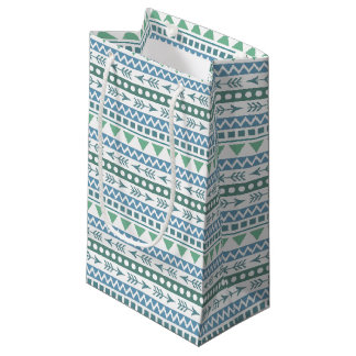 Aztec Pattern gift bags
