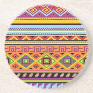 Aztec Pattern Popular Affordable Design Coasters