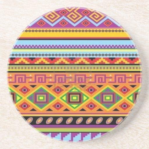 Aztec Pattern Popular Affordable Design Coasters
