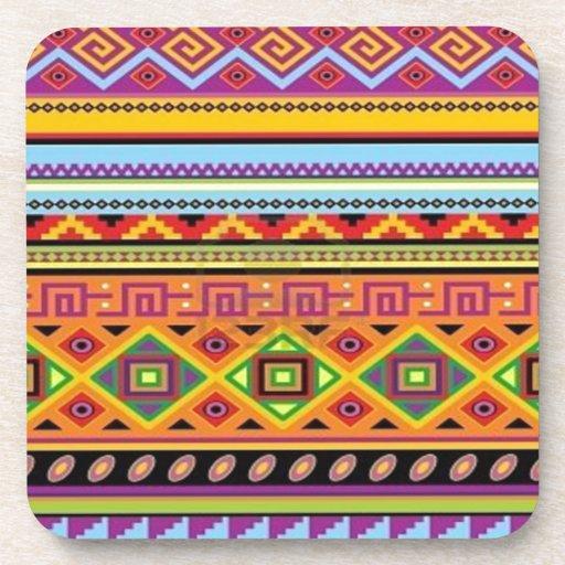Aztec Pattern Popular Affordable Design Drink Coaster
