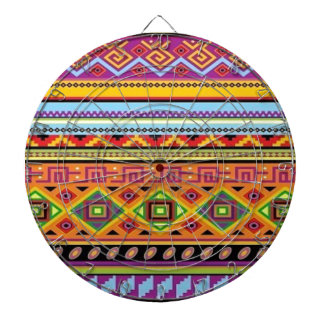 Aztec Pattern Popular Affordable Design Dartboards