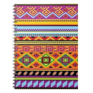 Aztec Pattern Popular Affordable Design Notebooks
