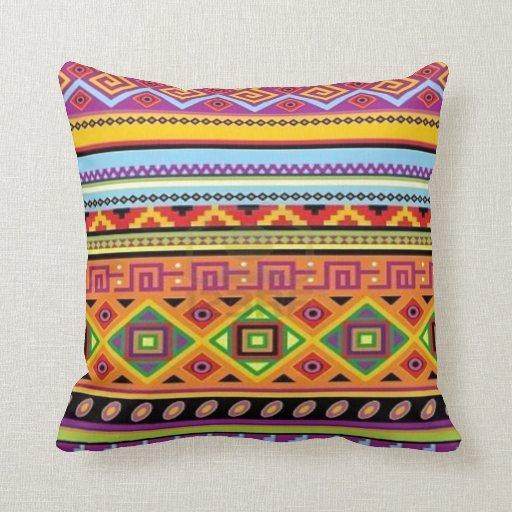 Aztec Pattern Popular Affordable Design Throw Pillow