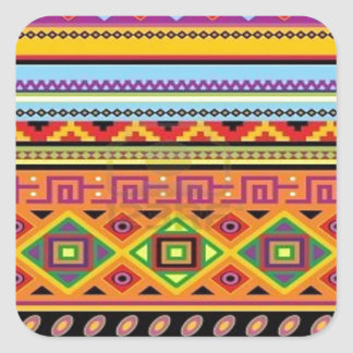 Aztec Pattern Popular Affordable Design Sticker