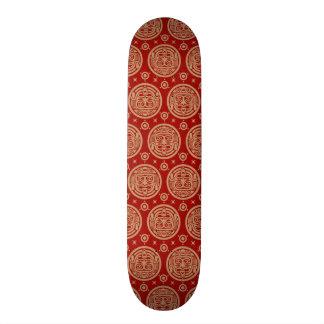 Aztec Pattern Skate Board