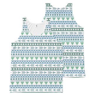 Aztec Pattern tank top