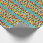 Aztec Pattern Wrapping Paper