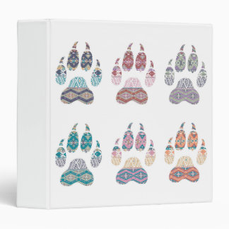 Aztec Paws 3-ring Binder