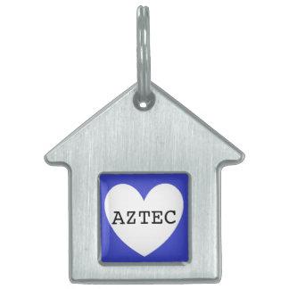 ❤️   AZTEC pet tag by DAL