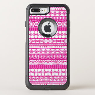 Aztec Pink Tribal Patten iPhone 7 Plus Case