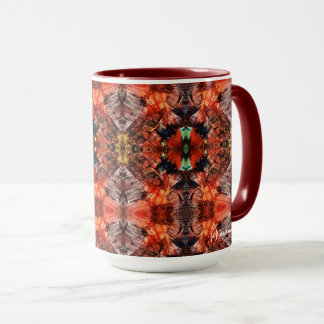 Aztec Red Adventure Mug