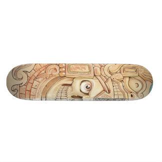 aztec rock custom skateboard