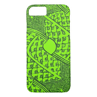 Aztec Serpent Pattern Barely There iPhone 7 Case