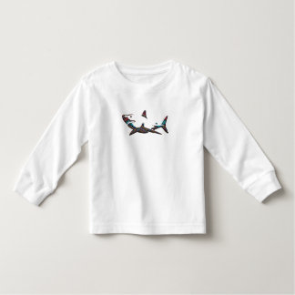 Aztec Shark Toddler T-shirt