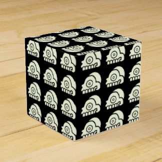 Aztec Skull Party Favor Box
