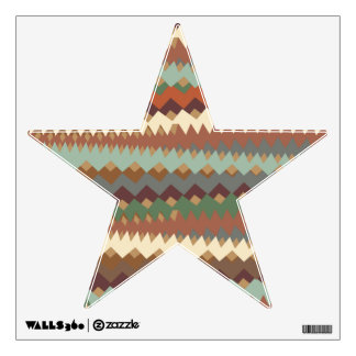 Aztec Stripes Tribal Southwest Camouflage Wall Decal