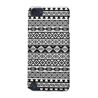 Aztec Stylized Pattern Black & White iPod Touch 5G Cases