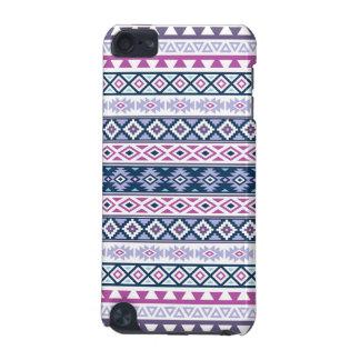 Aztec Stylized Pattern Pinks Purples Blues White iPod Touch 5G Case