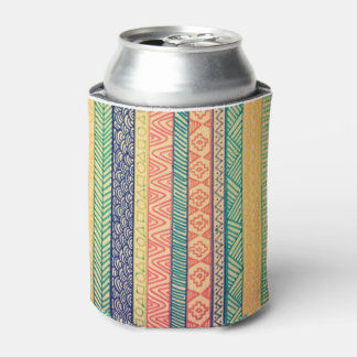 Aztec Summer-Themed Can Holder Can Cooler