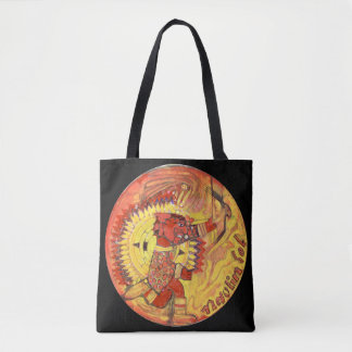 Aztec sun god - Amazing Mexico Tote bag