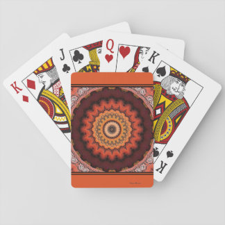 Aztec Sunburst Playing Cards
