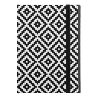 "Aztec Symbol Block Pattern Black & White iPad Pro 9.7"" Case"