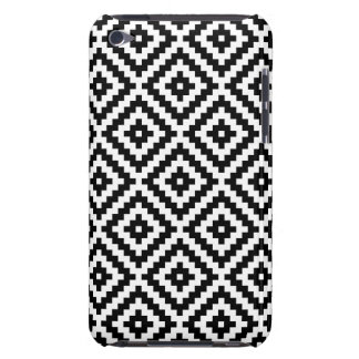 Aztec Symbol Block Ptn Black & White I Case-Mate iPod Touch Case