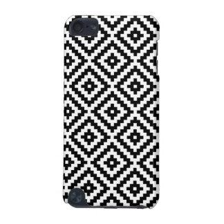 Aztec Symbol Block Ptn Black & White I iPod Touch 5G Covers