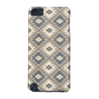 Aztec Symbol Stylized Pattern Blue Cream Sand iPod Touch (5th Generation) Cover