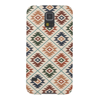 Aztec Symbol Stylized Pattern Color Mix Case For Galaxy S5