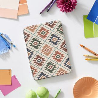 Aztec Symbol Stylized Pattern Color Mix iPad Pro Cover