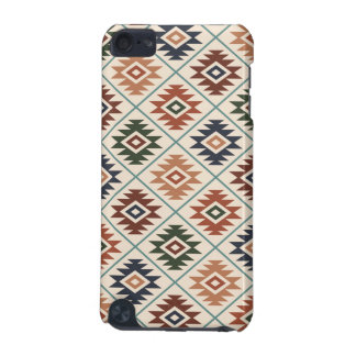 Aztec Symbol Stylized Pattern Color Mix iPod Touch (5th Generation) Covers