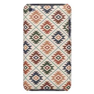 Aztec Symbol Stylized Pattern Color Mix iPod Touch Case