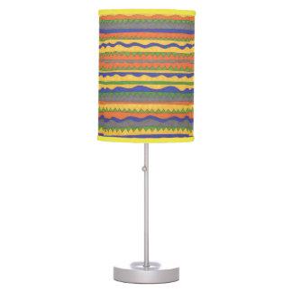 Aztec Tribal Bold Pattern Lamp