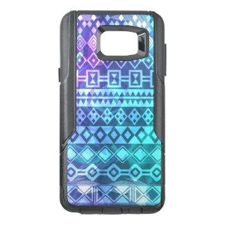Aztec Tribal Color Burned Print Phone Case