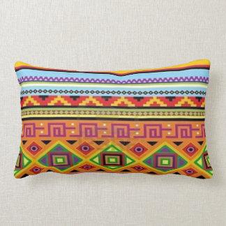 Aztec Tribal Lumbar Pillow