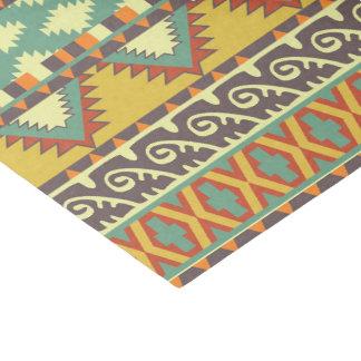 Aztec tribal pattern party tissue tissue paper