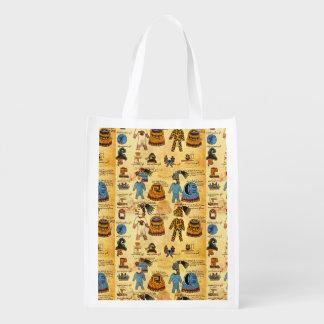 Aztec Tribute Reuseable Bag Market Tote
