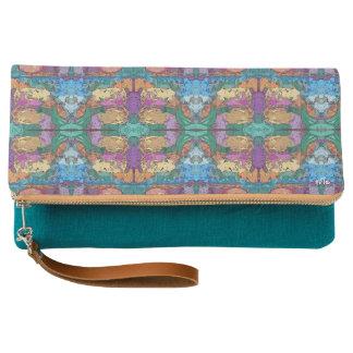 Aztec Turquoise Clutch