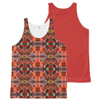Aztec Warrior Princess All-Over-Print Tank Top