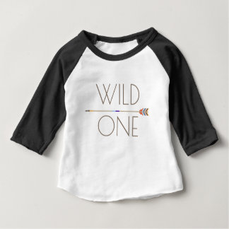 Aztec Wild One | First Birthday Baby T-Shirt