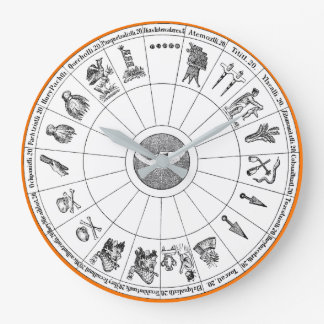 Aztec Year Clock