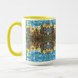 Aztec Yellow Adventure Mug