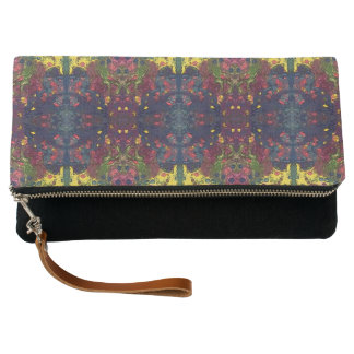 Aztec Yellow Clutch