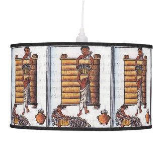 Aztecs Storing Maize Hanging Lamps