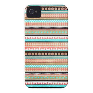 Aztèque à la mode coques Case-Mate iPhone 4