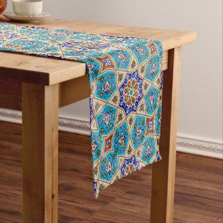 Azulejo Knot Short Table Runner
