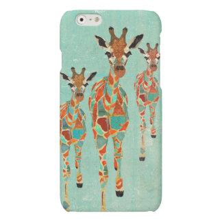 Azure & Amber Giraffes