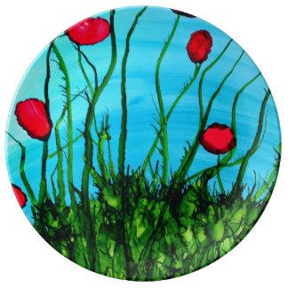 Azure Art Plate
